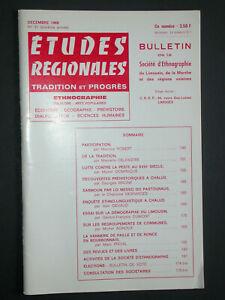 Bulletin SELM 1968 - Vannerie - Préhistoire à Chalus - Lutte contre la peste