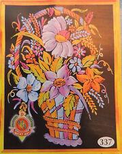 """Emboss Glitter Painting Kit : 16""""X22"""" Velvet Cloth : Glitter Paint"""