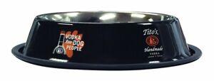 Tito's Handmade Vodka 32 oz Dog Bowl - Vodka For Dog People - New & Free Ship