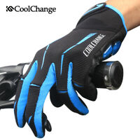 Winter Full Finger Gloves Cycling Bike Bicycle Touchscreen Gel Gloves Shockproof