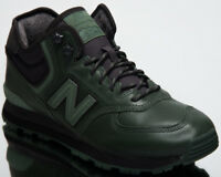 New Balance 574 Mid Top Men's Lifestyle Shoes Dark Green 2018 Sneakers MH574-OAB