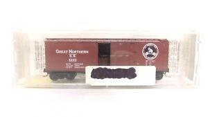 Kadee Micro Trains N GN Great Northern 40' Dbl Sheathed Wood Train Box Car 42080