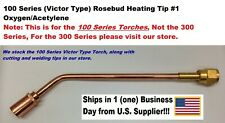 Heating Nozzle Rosebud Tip 1 For Victorvictor Type 100 Series Torches