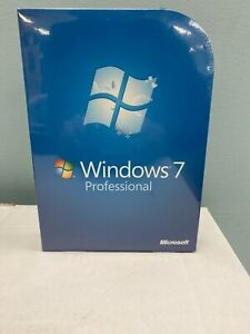 Microsoft Windows 7 Professional Pro FULL VERSION FQC-00129 GENUINE Retail OS