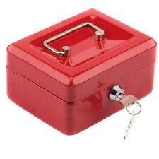 Portable Small Security Safe Box Lock Case Cash Money Jewelry Storage