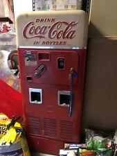 Vintage 1950s Double Chute Coca-Cola Machine - WORKS