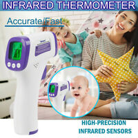 Infrared Forehead Thermometer No-Touch Adult Temperature Fever LCD Digital Temp
