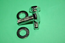 "TRIUMPH ARIEL  BSA 5/16"" CEI CHROME DOMED HEADLIGHT BOLTS WASHER SET H/LAMP"