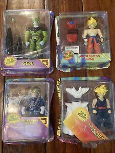 1996 Dragon Ball Z Figure Lot Cell Super Saiyan Trunks Goku Gohan Accessories