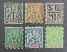 nystamps French Guadeloupe Stamp # 10//34 Mint OG H $47   A9y3042