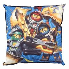 LEGO NEXO KNIGHTS POWER SQUARE CUSHION PILLOW KIDS BOYS SOFT POLYESTER NEW GIFT