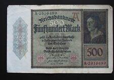 ALEMANIA . 500 MARK 1922 - CIRCULADO