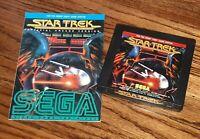 1983 Star Trek Strategic Operations Simulator Atari 5200 Game Cartridge & manual