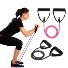 Yoga Pull Rope Elastic Resistance Bands Fitness Workout Exercise Tubes 120cm New