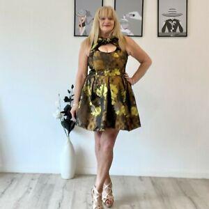 ASOS Fit n Flare Dress, NWOT, Plus Size 18