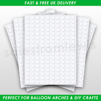 Glue Dots Double Sided Adhesive Points Sticky Balloons Clear DIY Removable Craft