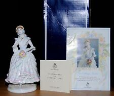 Royal Worcester The Village Bride Figurine Limited Edition Boxed With Coa