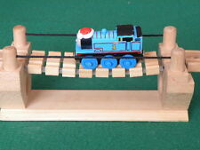 wobbly RICKETY ROPE BRIDGE for Thomas & Friends Wooden Railway & BRIO Train Sets
