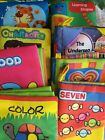 Collection+Of+8+Mini+Cloth+Crunchy+Books+For+Babies
