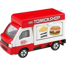 TOMICA SHOP SUBARU SAMBER TRUCK Hamburger Fries 1/55 TOMY DIECAST CAR NEW