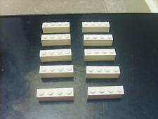 TBE 10 BRIQUES JAUNES 4X2X1 Lot pièces LEGO STAR WARS ou CITY