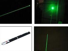 Laser Pointeur Stylo Lumière Haute Puissance Flash Visible 1mw 8000M Vert Neuf