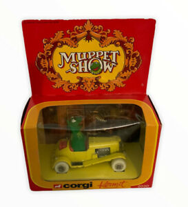 VTg Diecast Toy Car Corgi 2030 Muppet Show Kermit Boxed 1979 Retro (15