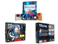 TERRANIGMA  OVP (BIG BOX) + SPIELBERATER  I guter Zustand I Super Nintendo Spiel