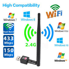 600Mbps Mini USB Wifi Wireless LAN Internet Adapter 802.11 n/g/b Network Dongle