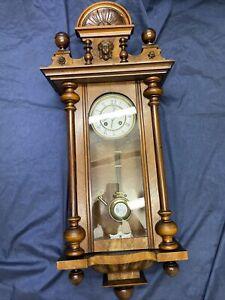 Kienzle Gründerzeit Regulator Antik Wanduhr Pendeluhr Historismus Vintage Uhr