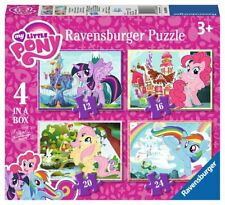 Brand New Ravensburger 4 in a Box Puzzles - My Little Pony