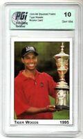 1995 Tiger Woods Stanford PRE-Rookie Card PGI 10 Trophy