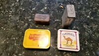 Lot Of Old Tins (Camel, Murray, Walter Baker Cocoa)