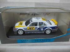 Minichamps 1/43 - Mercedes-Benz 190E Evo 1 Team MS-JET #16 Biela  DTM