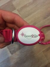 2x Pink Dog Collars With Flashing Light Size Small