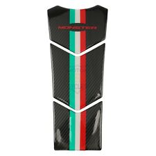 Carbon Fiber Oil Tank Pad Decals For Ducati Monster 600 696 1000 800 756 620 900