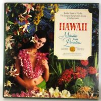 Hawaii Melodies From Paradise 5 Lp Record Box Set  Cheesecake Ex