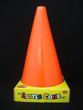 "4 My Little Cone Sports Football Soccer Skating Game 9.5"" High Cones Orange"