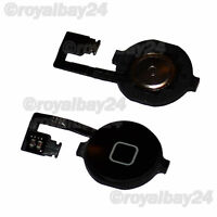 iPhone 4 Homebutton+Knopf Flex Kabel Home Button  Flexkabel  4G Taste schwarz