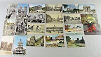 Lot of 21 Vintage Era Postcards Paris France Europe England