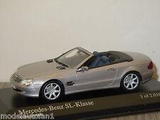 Mercedes SL-Klasse 2003 van Minichamps 1:43 in OVP *3819