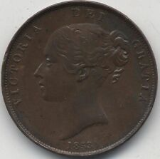 1853 Victoria One Penny | Pennies2Pounds