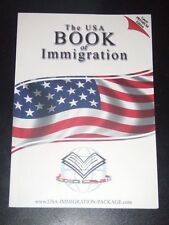 USAGC The USA Book of IMMIGRATION & The Immigration DVD NEW Premium Edition 2009