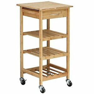 Design Group Bamboo Kitchen Trolley