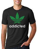 Addicted Weed Marijuana T-shirt
