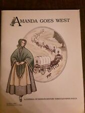 Amanda Goes West, A Journal of Fashion History Through Paper Dolls Book 1