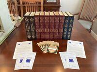 Easton Press - Abraham Lincoln 10 Book Collection - Excellent Condition