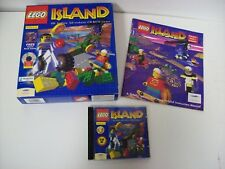 LEGO Island PC CD-ROM Big Box Video Game Complete with Comic Book Manual