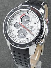 Seiko Sportura Chrono Perpetual Alarm Solar SSC359P1 (ungetragen)