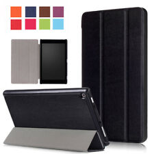 Magnetic Stand Smart Cover For Amazon Kindle Fire 7 HD 8 2017 Silm Leather Case